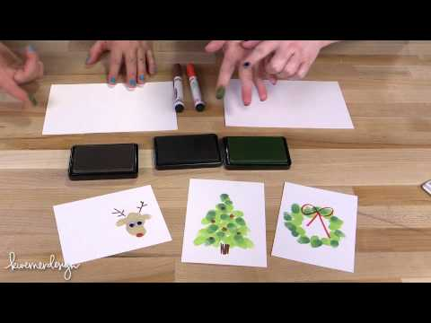 cards - Jenn from CupcakesAndCardio joins me in this video to make some fun, kid-friendly holiday cards! Check out Jenn's channel: https://www.youtube.com/user/Cupca...