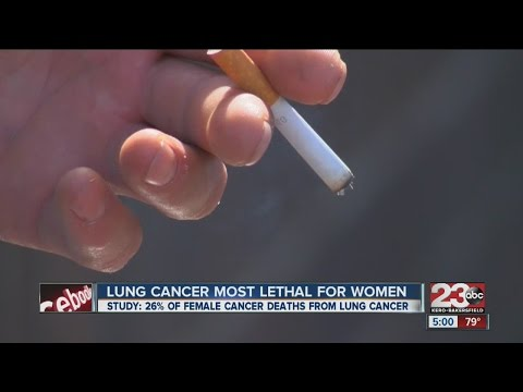Lung cancer now the deadliest form of cancer for women