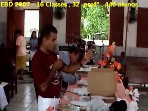 EBD - Escola Biblica Dominical 2007 - Porto Rico MA