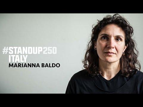#StandUp250 Italy - Marianna Baldo