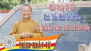 Kinh Trung Bộ 011: Đặc điểm đạo Phật: Giải trừ kiến chấp - TT. Thích Nhật Từ - 17/04/2005