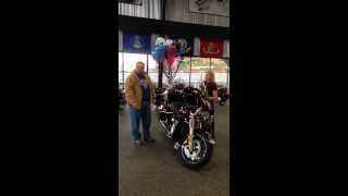 Epic Gift   Wife Daughter Give Dad A New 2014 Harley Davidson Ultra Limited     Rattlesnake Mtn Hd