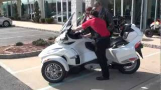 7. 2013 Can-Am Spyder RT Limited Motorcycle