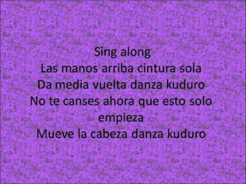 Danza Kuduro Don Omar ft. Akon ( Remix ) Lyrics *First on web*