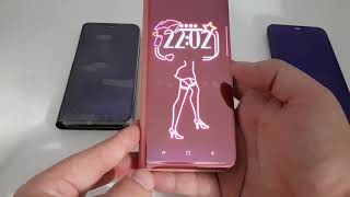 Video Scan QR code to install Kview APP for Clear View Flip Cover Samsung Galaxy case S9 PLUS MP3, 3GP, MP4, WEBM, AVI, FLV Desember 2018