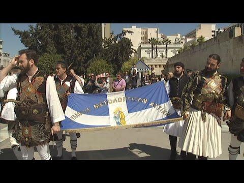 Ο εορτασμός της 191ης επετείου της εξόδου του Μεσολογγίου στην Αθήνα