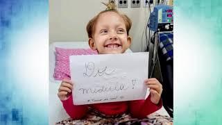 Meninas de 7 anos recebe transplante de medula do pai e se recupera bem