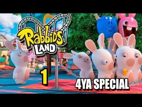4YA Special: Rabbids Land - Кооп pt1
