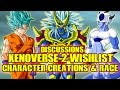 Dragon Ball Xenoverse 2: Character Creation & Roster (DBZ Discussion) Xenoverse 2 Wishlist