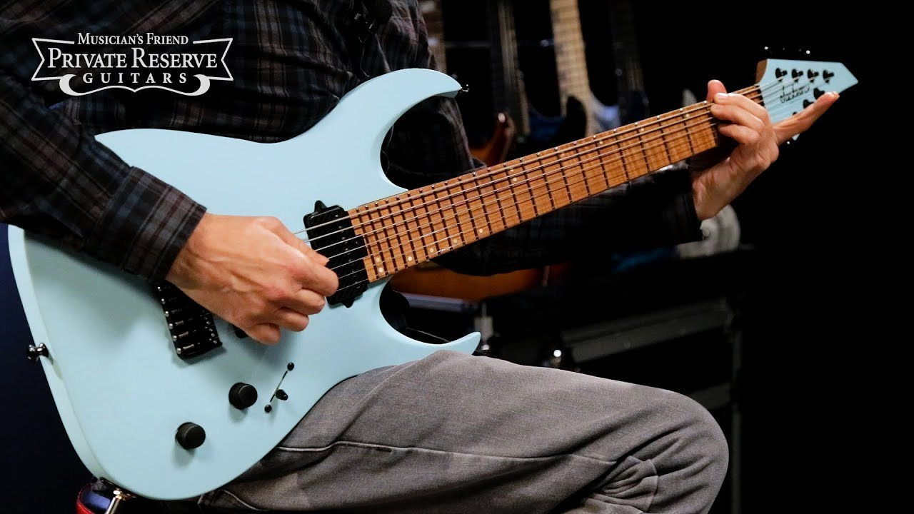 Jackson USA Signature Misha Mansoor Juggernaut HT7 7-String Electric Guitar