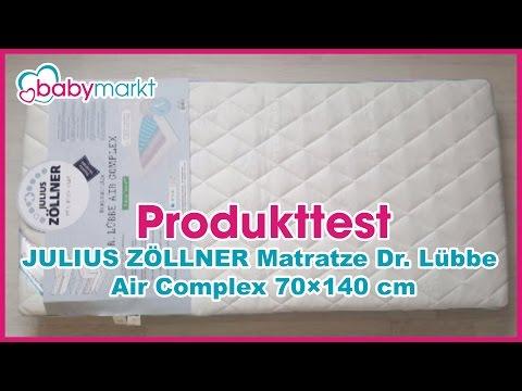 Produkttest JULIUS ZÖLLNER Matratze Dr. Lübbe Air Complex 70x140cm