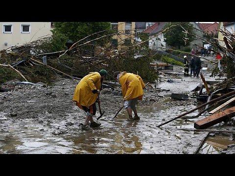 Φονικές πλημμύρες σε Γερμανία και Γαλλία