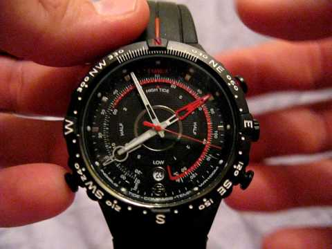 Timex E-Instruments Tide,Temp,Compass Video Review