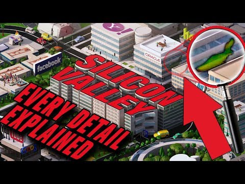 SILICON VALLEY INTRO SEQUENCE - EVERY DETAIL,Easter eggs,History behind the opening in seasons 1-5