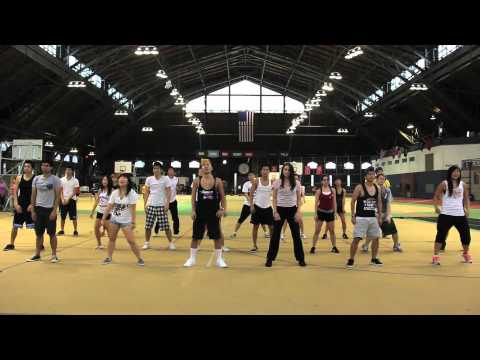 Cornell Gangnam Style Flash Mob Practice Video
