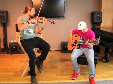 garrett - EXCLUSIVE video of David Garrett giving us a private performance in New York City. July 26, 2013 www.concertblogger.com.