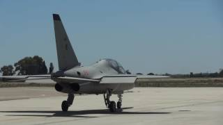Galatina Italy  City pictures : Aermacchi T-346, taxi at 61st Wing training school in Lecce Galatina, Italy