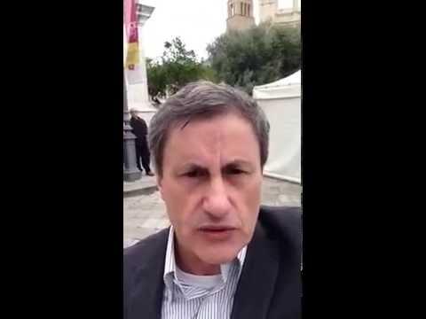 #VIDEOSUD 1 Lecce: a piazza Sant'Oronzo cominciano le Europee 2014
