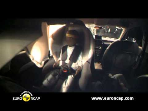 Euro NCAP Audi Q3 2011 Crash test