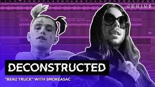 "Video The Making Of Lil Peep's ""Benz Truck"" With Smokeasac 