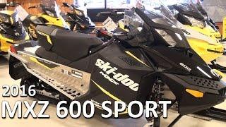 6. 2016 MXZ 600 SPORT
