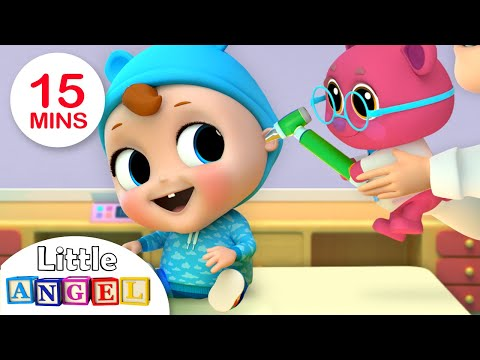 Baby Visits Doctor Teddy | Doctor Song | Nursery Rhymes by Little Angel - Thời lượng: 15 phút.