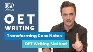 Video E2 OET: Writing   Transforming Case Notes with Jay MP3, 3GP, MP4, WEBM, AVI, FLV Maret 2019