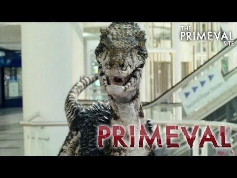 Primeval: Series 2 - Episode 1 -  A Raptor Chases Connor in a Shopping Mall (2008)