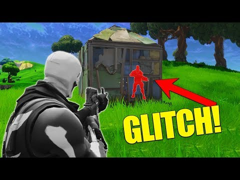 Weird Wallhack Glitch! [Fortnite Battle Royale]