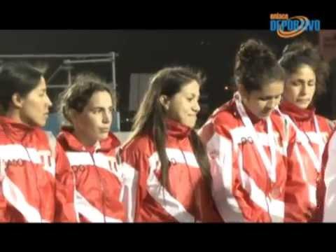 Rugby femenino logró el bronce en Bolivarianos de Playa