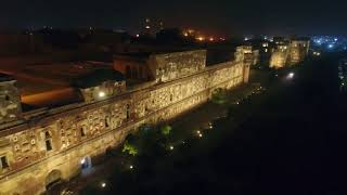 Illumination of the World's Largest Picture Wall Lahore Fort