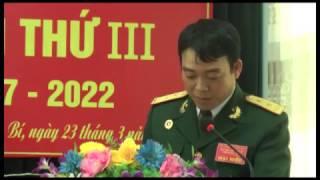 Đại hội Hội CCB Khối dân vận lần thứ 3, nhiệm kỳ 2017-2022