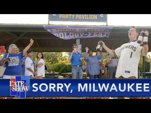 Stephen Wins Back Milwaukee's Love With An Apology And Lots Of Free Beer