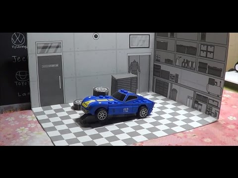 Papercraft Background Garage Gallery Finish