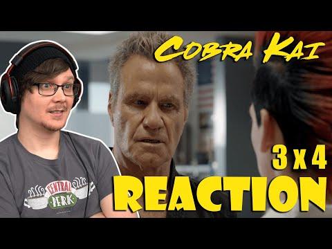 """COBRA KAI - 3x4 - Reaction! """"The Right Path"""" (Season 3 Episode 4)"""