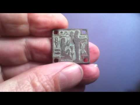 A STRANGE ARTIFACT FROM EGYPT FOUND METAL DETECTING IN WILTSHIRE