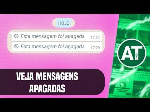 SAIU! Como ver mensagens apagadas no whatsapp
