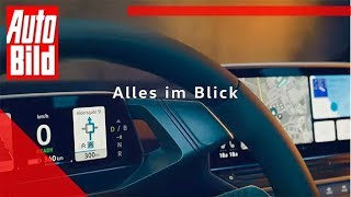 VW ID.3 Cockpit (2019) Leak - erste Bilder - Youtube - Screenshots by Auto Bild