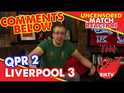uncensored - Chris brings you a selection of the best YT comments after the win over QPR yesterday including, for the first time, co-comments of the week. The Redmen TV is Uncensored LFC Television......