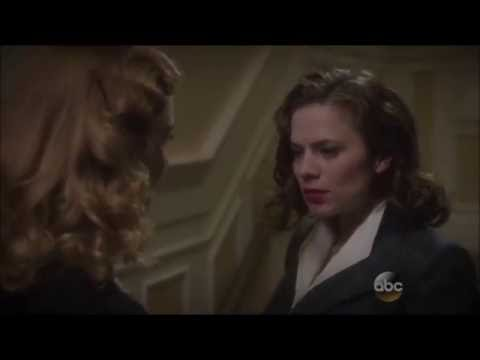 Marvel's Agent Carter - Peggy & Dottie Kiss HD