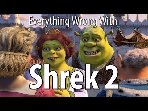Everything Wrong With Shrek 2 In 18 Minutes Or Less (видео)
