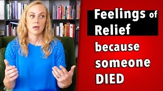 This video was actually requested by my mom. We recently lost a close relative of ours and since he was sick for so many years, his wife felt relief upon his ...