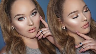 Wearable GLOWY Soft Glam Makeup Tutorial by Nikkie Tutorials