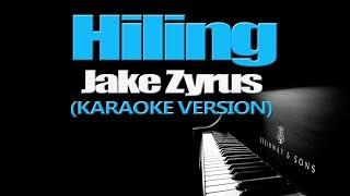 Download Lagu HILING - Jake Zyrus (KARAOKE VERSION) Mp3
