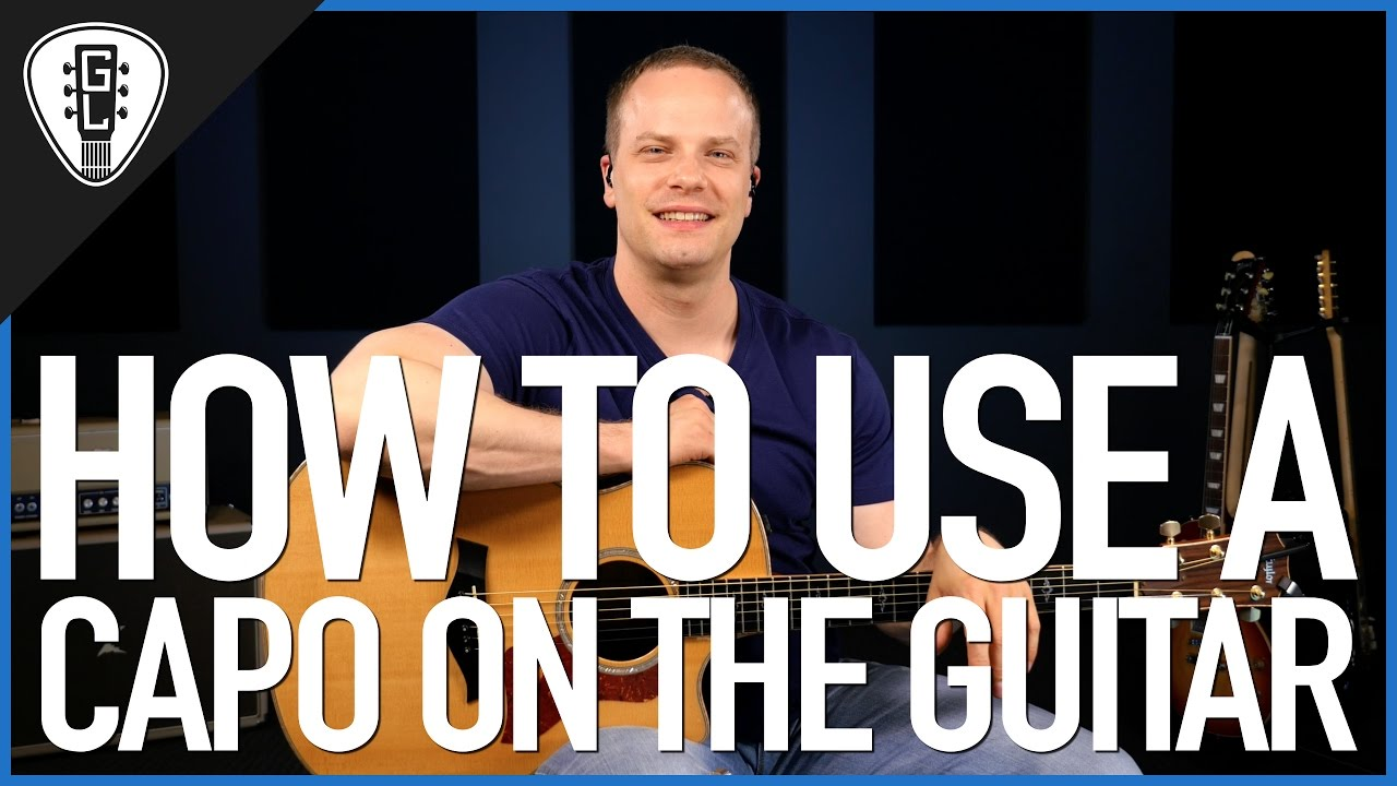How To Use A Capo On The Guitar – Guitar Lesson