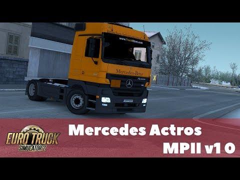 Mercedes Actros MPII v1.0