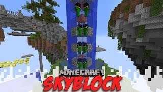 I'M CONTRIBUTING! - Skyblock Season 4 - EP04 (Minecraft Video)