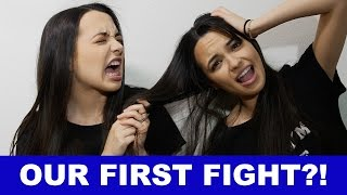 """""""The Merrell Twins never fight!""""... or do we?! We had our first fight!! Comment below what kind of fights you have with your siblings! Let's make it a goal for all of us too be kind to our brothers and sisters... unless they don't deserve it... then fight your heart out! Subscribe to Merrell Twins: http://bit.ly/2dSP9FgSubscribe to our NEW CHANNEL!!!!!MERRELL TWINS LIVEhttp://www.youtube.com/channel/UCCqWrxHaMTPBsDUThxiBTJg?sub_confirmation=1Check Out Our Other Videos:10 STEPS TO GET YOUR CRUSHhttps://youtu.be/x9ghZWXDzKoWHAT's WORSE THAN THAThttps://youtu.be/mJ__BJdF3MUMAKEUP TIN FOIL CHALLENGEhttps://youtu.be/MPAmarNvhZg10 THINGS YOU'RE DOING WRONGhttps://youtu.be/e8z7j4Ukt1YGet Merrell Twins Merch:https://www.districtlines.com/Merrell-TwinsSNAPCHAT: @merrelltwinsTWITTER: https://twitter.com/MerrellTwinsTWITTER: https://twitter.com/VanessaMerrellTWITTER:  https://twitter.com/veronicamerrellINSTAGRAM: http://instagram.com/merrelltwinsINSTAGRAM: http://instagram.com/vanessamerrellINSTAGRAM:http://instagram.com/veronicamerrellFACEBOOK: https://www.facebook.com/MerrellTwinsWEHEARTIT https://www.weheartit.com/merrelltwinswww.merrelltwins.com"""