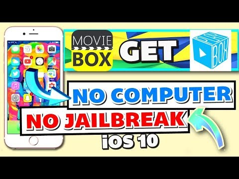 How To Get Movie Box HD IOS 10/11 (NO JAILBREAK) (NO COMPUTER) On IPhone, IPad, IPod Touch - 2017