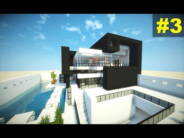 Minecraft tutorial casa moderna 3 parte 3 for Casa moderna 4 parte 3